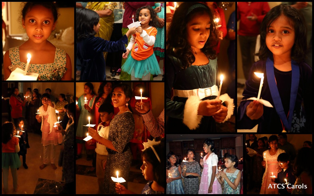 Carols - Kids With Candle Light