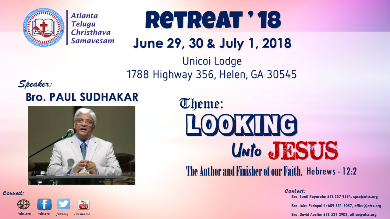 Retreat Flyer