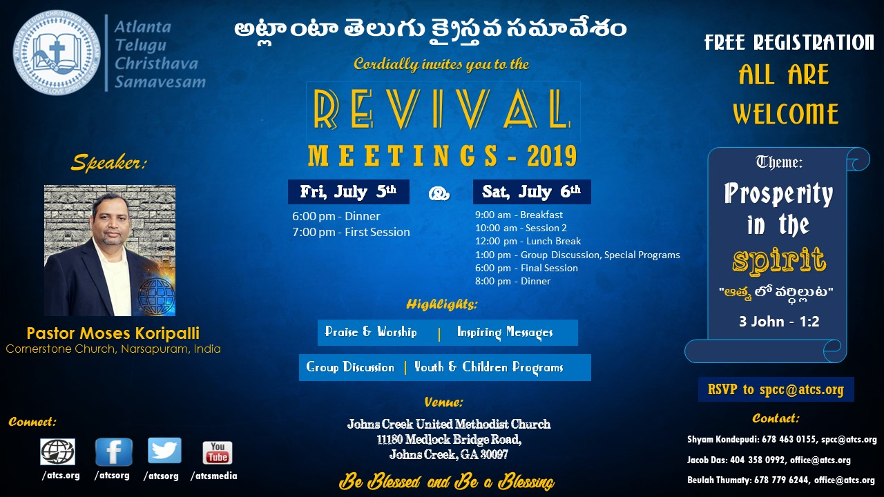 Revival 2019 Flyer