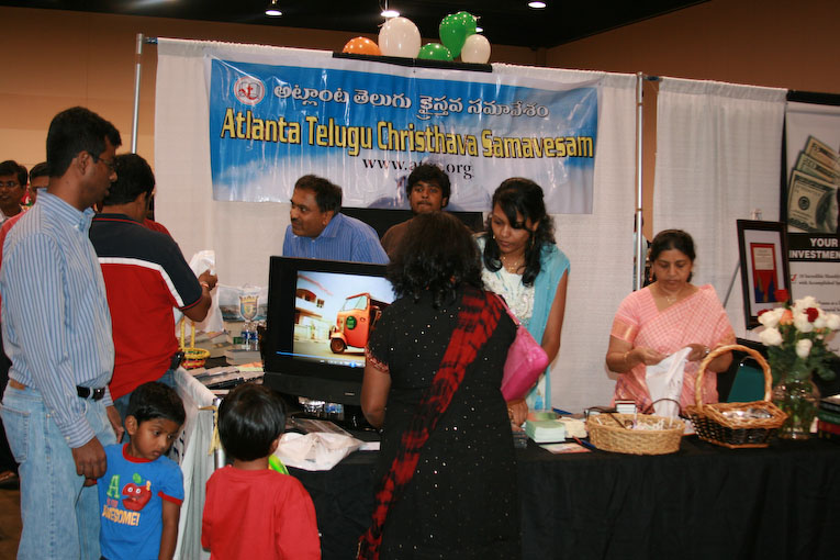 Booth @ Festival of India 2010